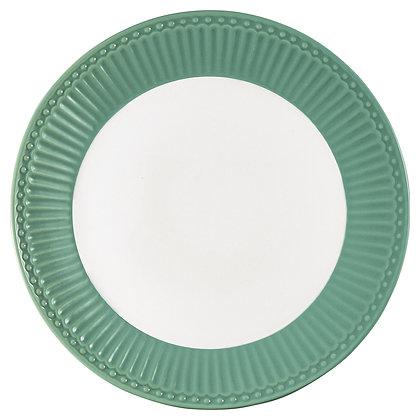 Тарелка Элис пыльно-зеленая