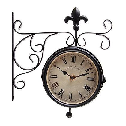 Часы - термометр