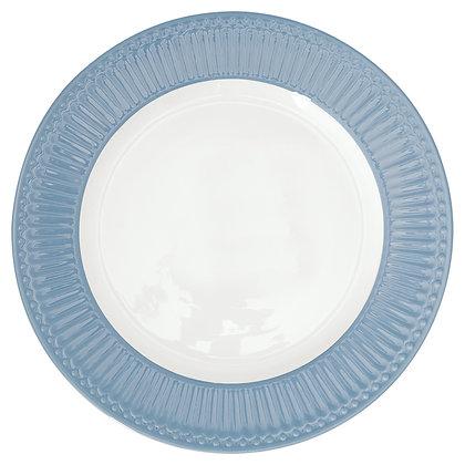 Тарелка Элис небесно-голубая столовая