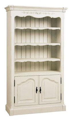Шкаф книжный соединяющийся двухдверный Романс