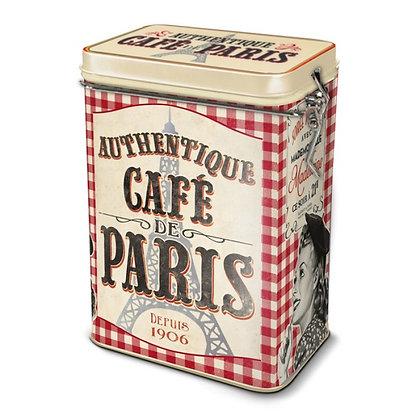 """Коробка для кофе """"Кафе Парижа"""""""
