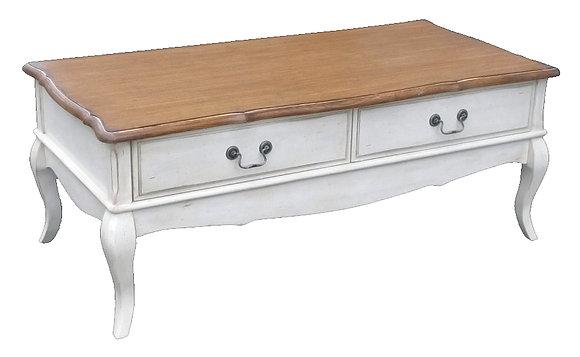 Чайный столик с двумя ящичками