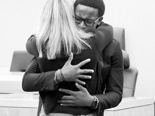 The Hug Felt Around the World