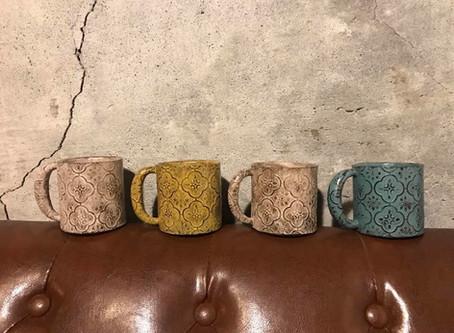 海棠花陶作器皿