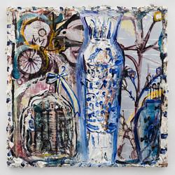 對話_Dialogue_oil_on_canvas_70x70cm_20