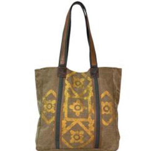Mona B Mosaic Tote Bag
