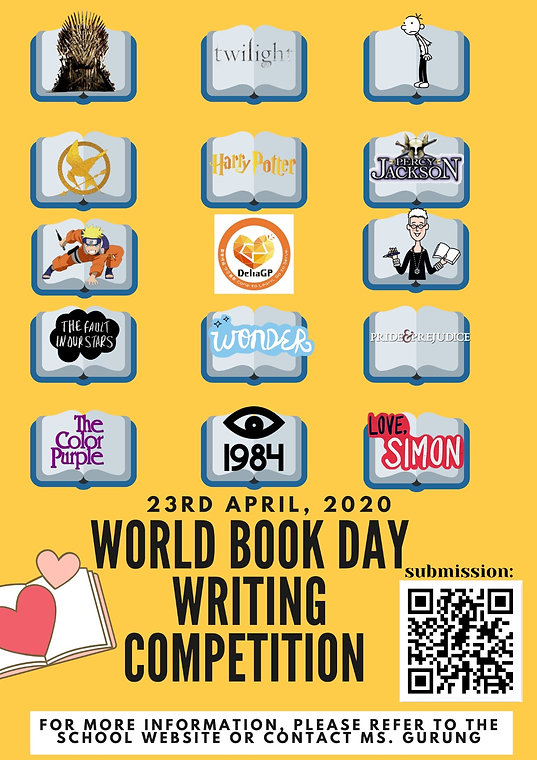World Book Day Writing Competition Poste