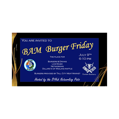 BAM Burger Friday