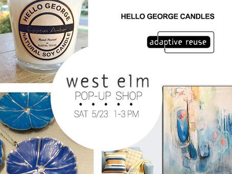 Pop Up Gallery West Elm Austin