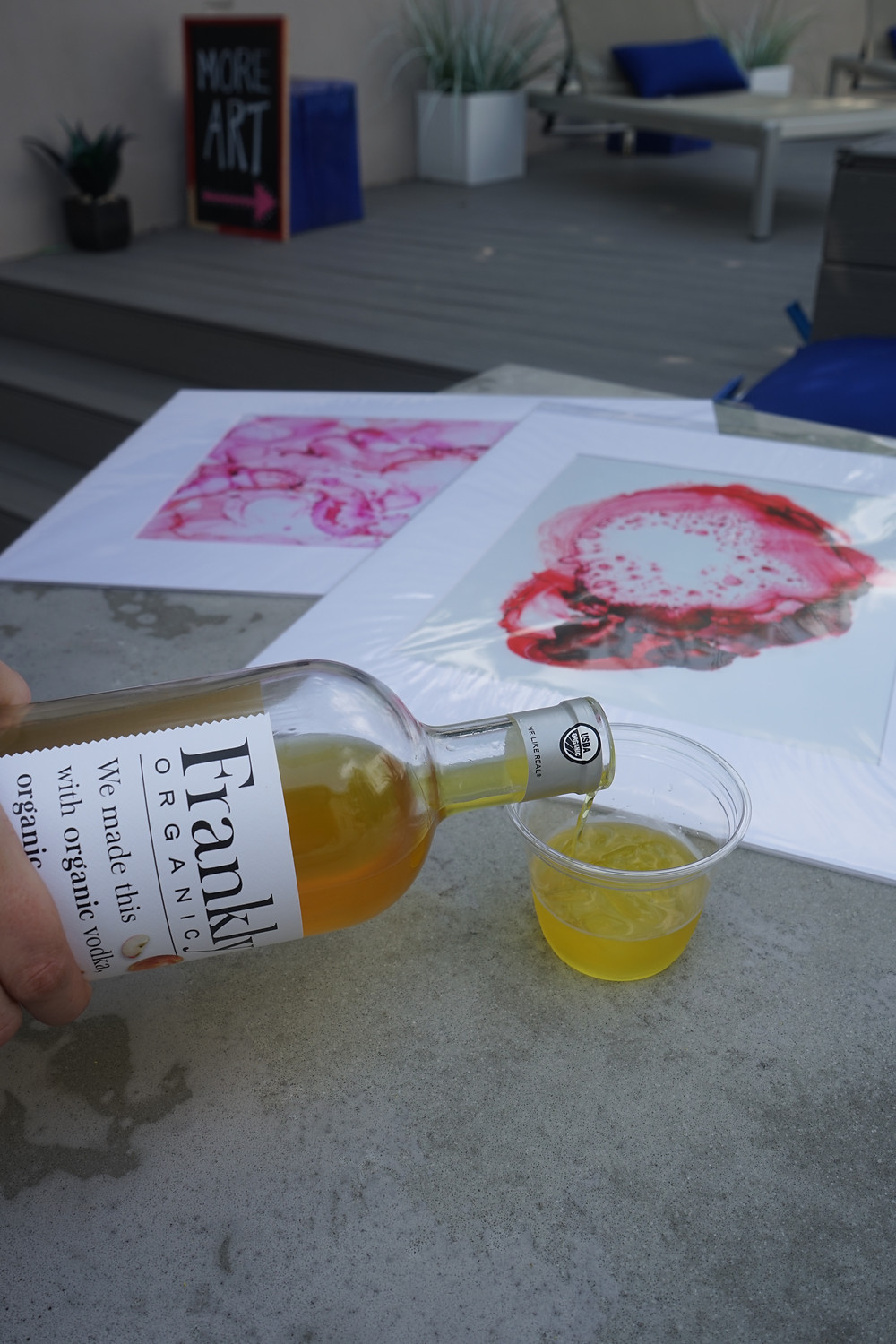Abstract Art, Alcohol