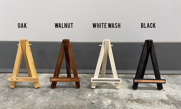 Hand Stained Easels
