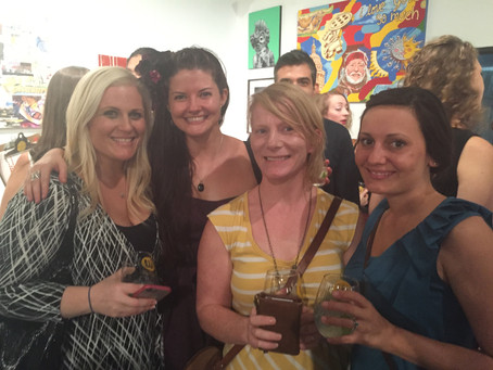 Red Dot Art Spree, Women and Their Work hosted a killer event!