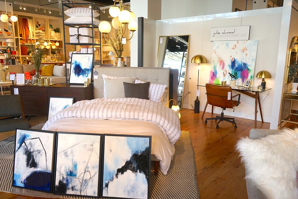 Abstract Art, Pop Up Shop