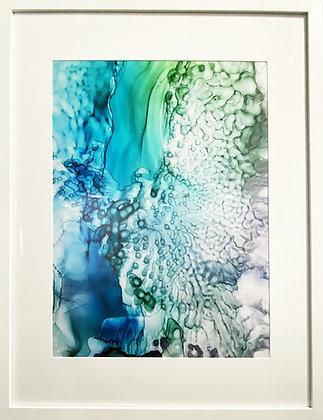 Custom Framed Print of Mystics of the Sea No.2