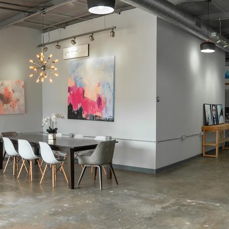 A Tour of the Julie Ahmad Art Studio