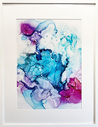Custom Framed Print of Candied Coral