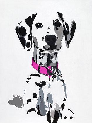Winnie the Dalmatian, Giclee Print