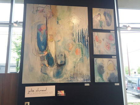 West Elm's Local Artist Wall, The Month of April 2015 Austin, TX.