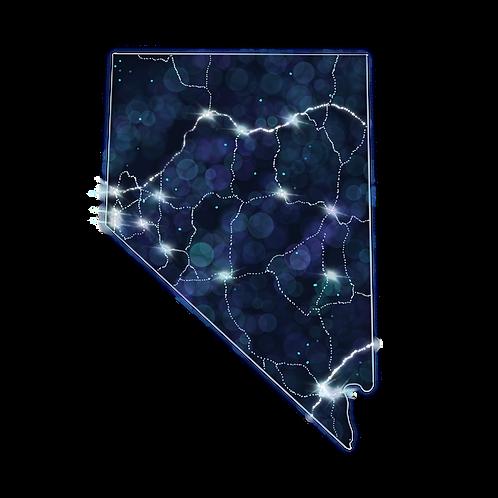 Nevada Constellations Magnet