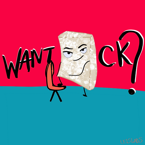 Want TOFU—ck? Sticker