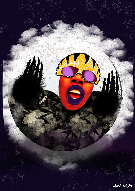 Missy Moon Print