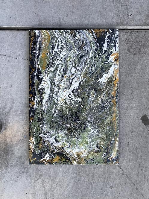 Jungle zen on canvas