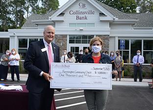 Collinsville Bank celebrates its Farmington location