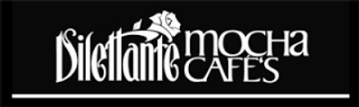 dilettante mocha cafe logo off internet.