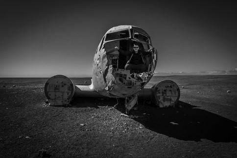 DC-3 Plane Wreck, Iceland