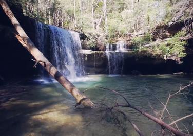 Caney Creek Falls, Al