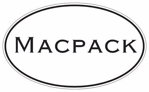 Macpack Euro Bumper Sticker