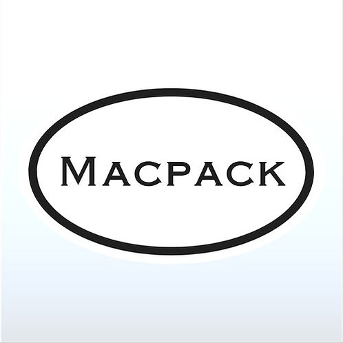 Macpack Window Sticker