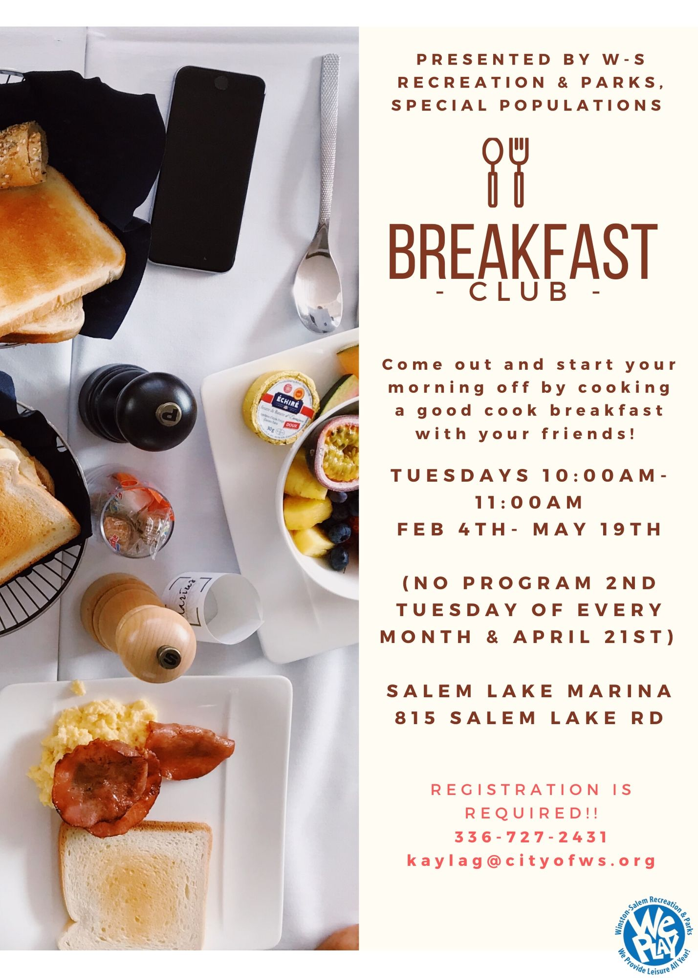 Breakfast Club Flyer