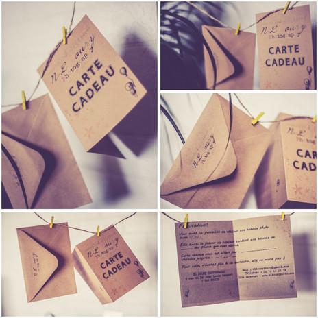 | Cartes Cadeau | - |Gift Card |