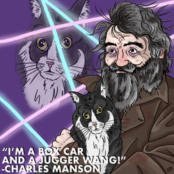 Charles Manson with Your Cat