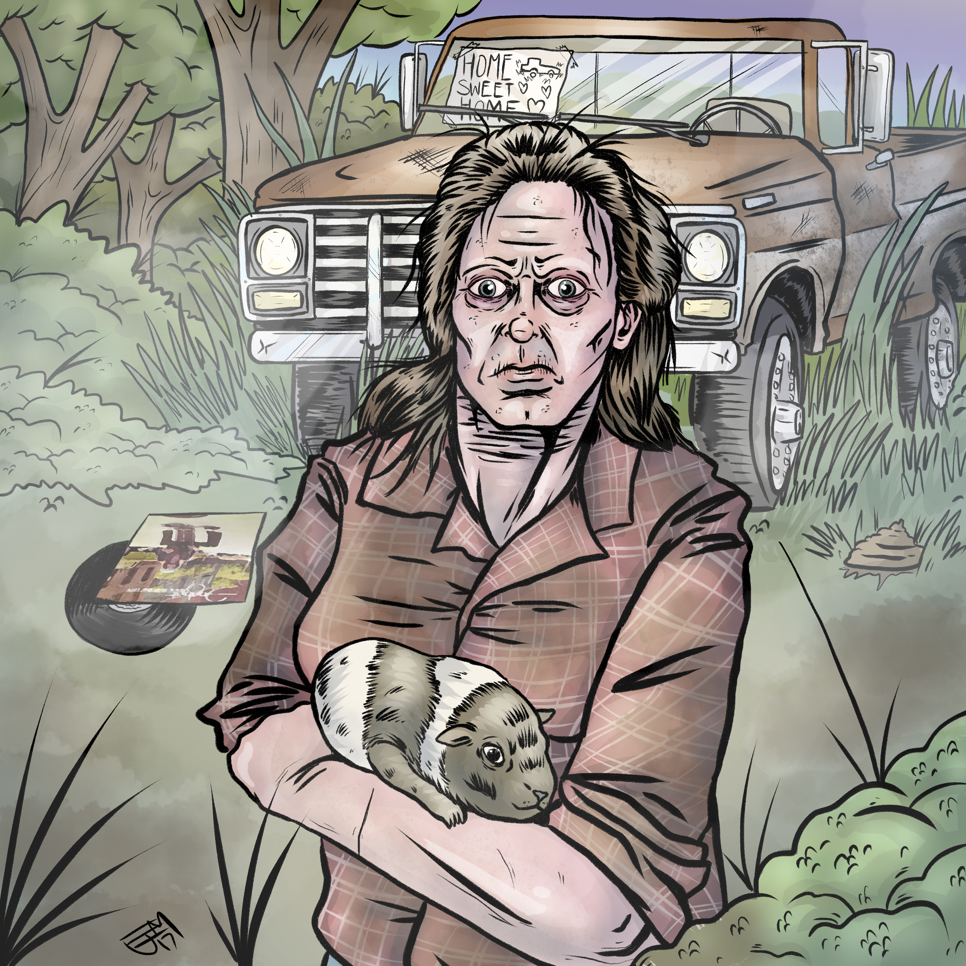 Aileeen Wuornos and a Guinea Pig