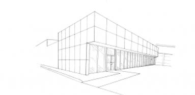 diseño edificio comercial