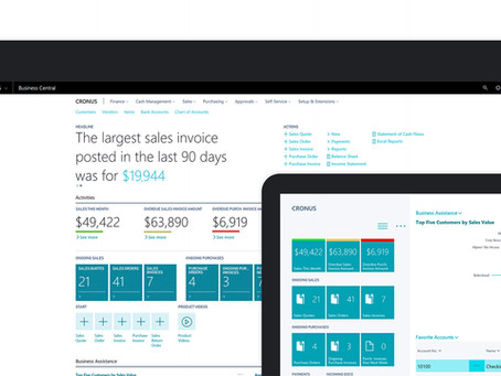 Microsoft Dynamics 365 Business Central Spring Release
