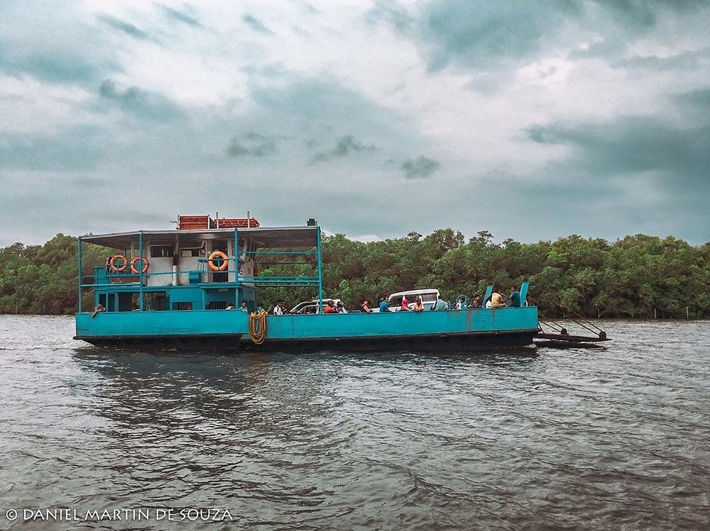 ferry in goa