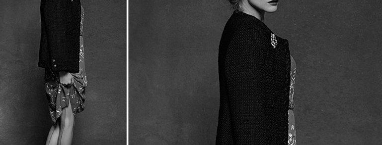 Karl Lagerfeld _ Diane Kruger for the little black jacket
