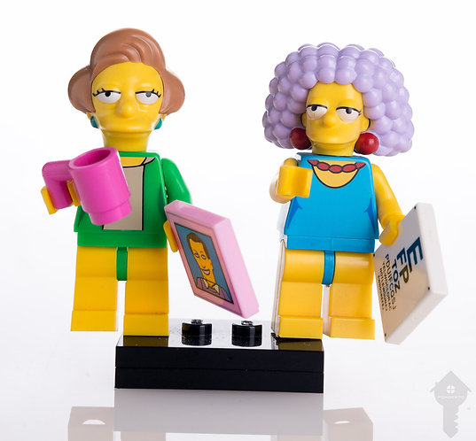The Simpsons _ Lego mini figuras