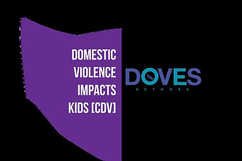 Childhood Domestic Violence Mask w/ Ear Adjusters