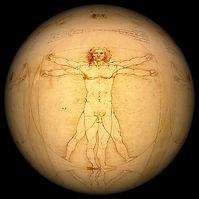 En ritning av Leo Da Vinci