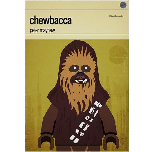 Lego Star Wars - Chewbacca - Photo Prints