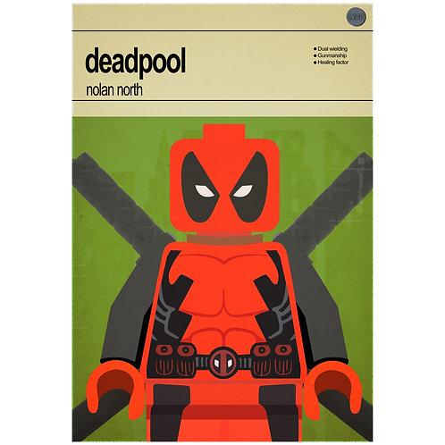 Lego Super Heroes - Deadpool - Photo Print