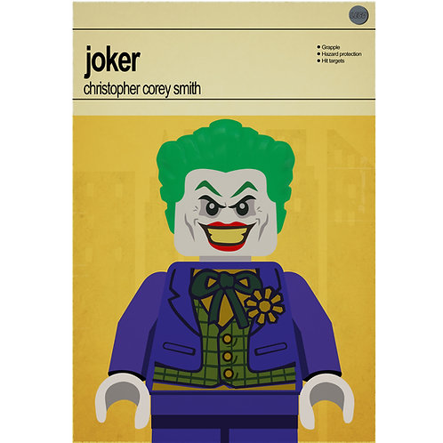 Lego Super Heroes - Joker - Photo Print