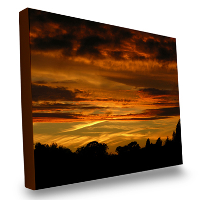 Your photos printed onto canvas