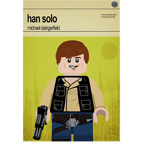 Lego Star Wars - Han Solo - Photo Print