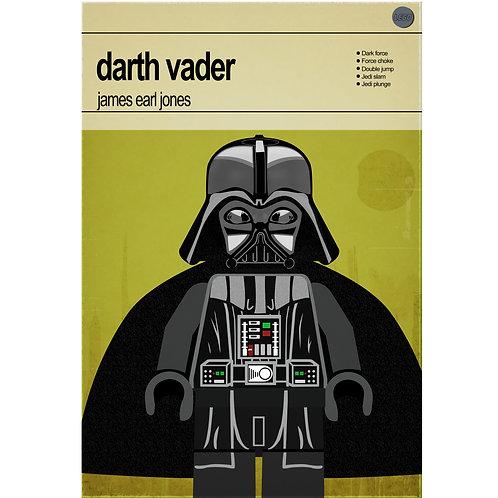 Lego Star Wars - Darth Vader - Photo Print