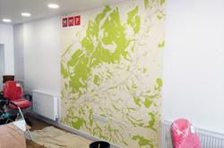 Digital wallpaper commercial interio